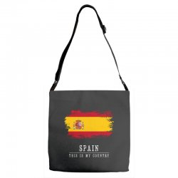 This is my country - Spain Adjustable Strap Totes | Artistshot