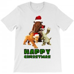 sid manfred diego happy christmas for light T-Shirt | Artistshot