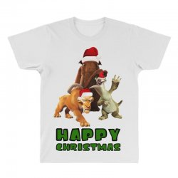 sid manfred diego happy christmas for light All Over Men's T-shirt | Artistshot