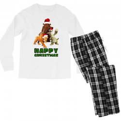 sid manfred diego happy christmas for light Men's Long Sleeve Pajama Set | Artistshot