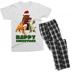 sid manfred diego happy christmas for light Men's T-shirt Pajama Set | Artistshot