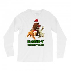 sid manfred diego happy christmas for light Long Sleeve Shirts | Artistshot