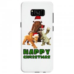 sid manfred diego happy christmas for light Samsung Galaxy S8 Case | Artistshot