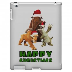sid manfred diego happy christmas for light iPad 3 and 4 Case | Artistshot