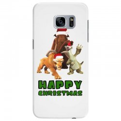sid manfred diego happy christmas for light Samsung Galaxy S7 Edge Case | Artistshot