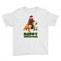 sid manfred diego happy christmas for light Youth Tee | Artistshot