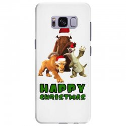 sid manfred diego happy christmas for light Samsung Galaxy S8 Plus Case | Artistshot