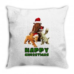 sid manfred diego happy christmas for light Throw Pillow | Artistshot