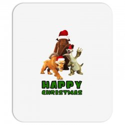sid manfred diego happy christmas for light Mousepad | Artistshot
