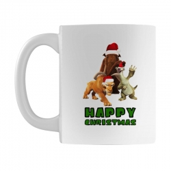 sid manfred diego happy christmas for light Mug | Artistshot