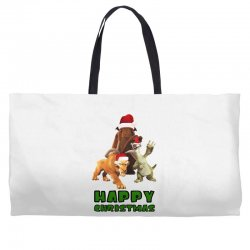 sid manfred diego happy christmas for light Weekender Totes | Artistshot