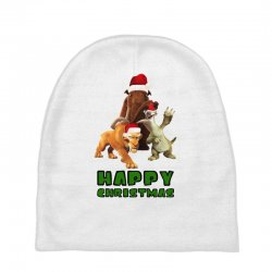 sid manfred diego happy christmas for light Baby Beanies | Artistshot