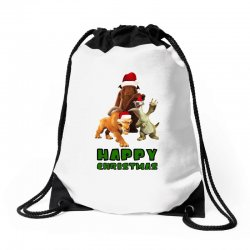sid manfred diego happy christmas for light Drawstring Bags | Artistshot