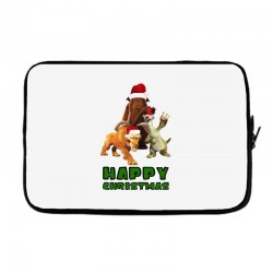 sid manfred diego happy christmas for light Laptop sleeve | Artistshot