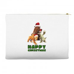 sid manfred diego happy christmas for light Accessory Pouches | Artistshot