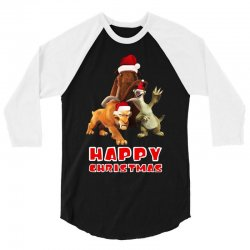 sid manfred diego happy chistmas for dark 3/4 Sleeve Shirt | Artistshot