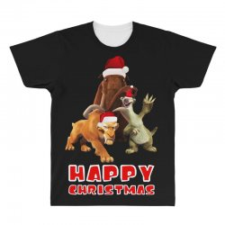 sid manfred diego happy chistmas for dark All Over Men's T-shirt | Artistshot