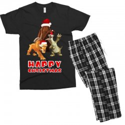 sid manfred diego happy chistmas for dark Men's T-shirt Pajama Set | Artistshot