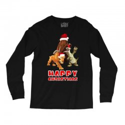 sid manfred diego happy chistmas for dark Long Sleeve Shirts | Artistshot