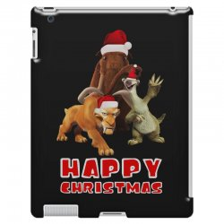 sid manfred diego happy chistmas for dark iPad 3 and 4 Case | Artistshot
