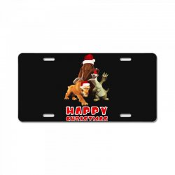 sid manfred diego happy chistmas for dark License Plate | Artistshot