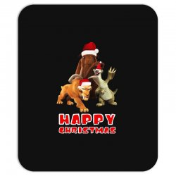 sid manfred diego happy chistmas for dark Mousepad | Artistshot