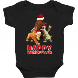 sid manfred diego happy chistmas for dark Baby Bodysuit | Artistshot