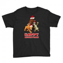 sid manfred diego happy chistmas for dark Youth Tee | Artistshot