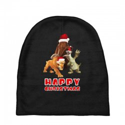 sid manfred diego happy chistmas for dark Baby Beanies | Artistshot