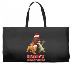 sid manfred diego happy chistmas for dark Weekender Totes | Artistshot