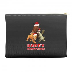 sid manfred diego happy chistmas for dark Accessory Pouches | Artistshot