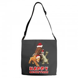 sid manfred diego happy chistmas for dark Adjustable Strap Totes | Artistshot