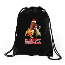 sid manfred diego happy chistmas for dark Drawstring Bags | Artistshot