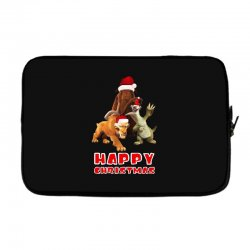 sid manfred diego happy chistmas for dark Laptop sleeve | Artistshot