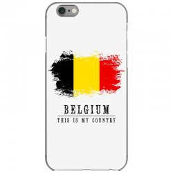 This is my country - Belgium iPhone 6/6s Case | Artistshot