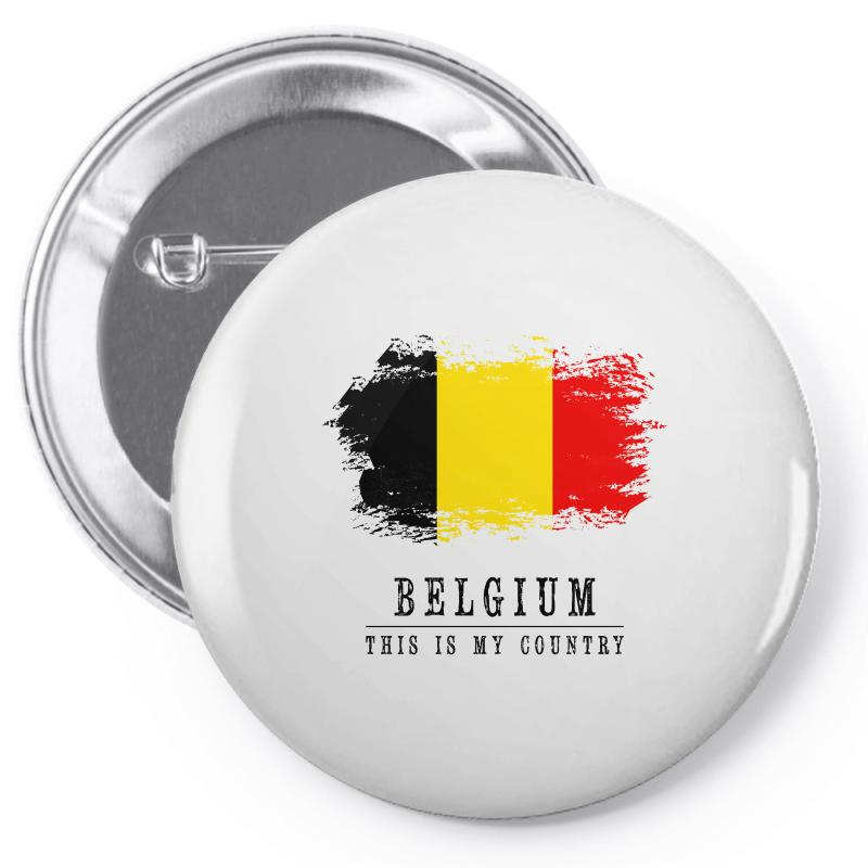 This Is My Country - Belgium Pin-back Button | Artistshot
