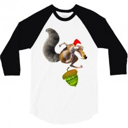 ariscratle and christmas acorn 3/4 Sleeve Shirt | Artistshot