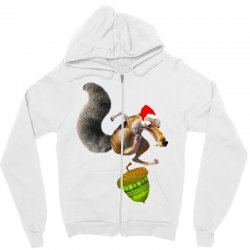 ariscratle and christmas acorn Zipper Hoodie | Artistshot