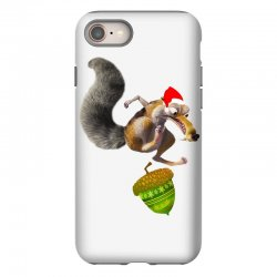 ariscratle and christmas acorn iPhone 8 Case | Artistshot