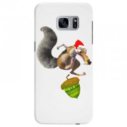 ariscratle and christmas acorn Samsung Galaxy S7 Edge Case | Artistshot
