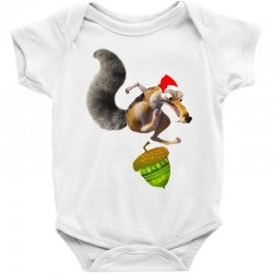 ariscratle and christmas acorn Baby Bodysuit | Artistshot