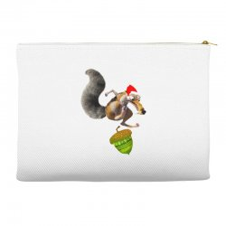 ariscratle and christmas acorn Accessory Pouches | Artistshot