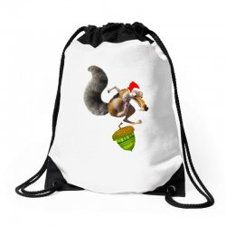 ariscratle and christmas acorn Drawstring Bags | Artistshot