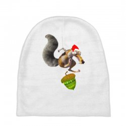 ariscratle and christmas acorn Baby Beanies | Artistshot