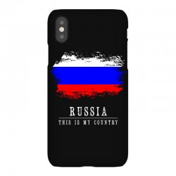 This is my country - Russia iPhoneX Case | Artistshot