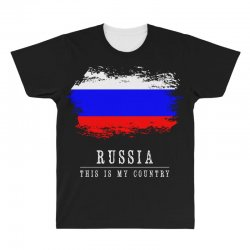 This is my country - Russia All Over Men's T-shirt | Artistshot