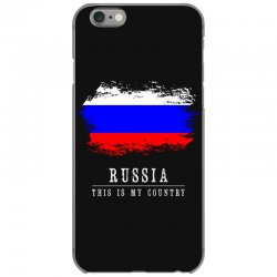 This is my country - Russia iPhone 6/6s Case | Artistshot