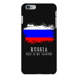 This is my country - Russia iPhone 6 Plus/6s Plus Case | Artistshot