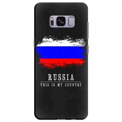 This is my country - Russia Samsung Galaxy S8 Plus Case | Artistshot