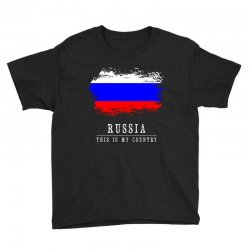 This is my country - Russia Youth Tee | Artistshot